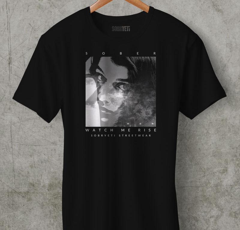 SOBRYETI Black T-Shirt