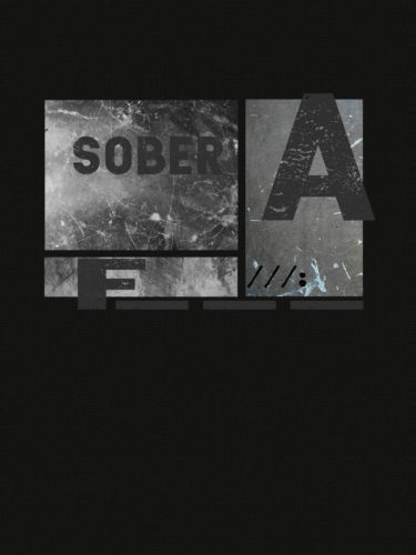 Sober AF Grunge T-Shirt