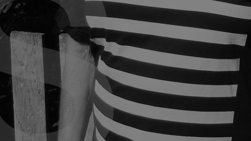 white lines tshirt