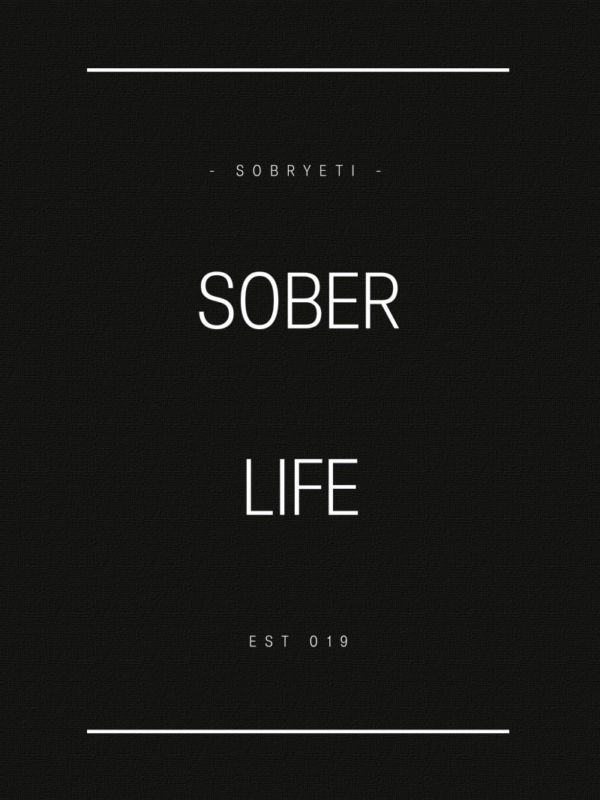 women's sober life t shirt